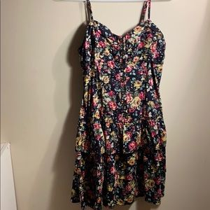 beautiful floral dress